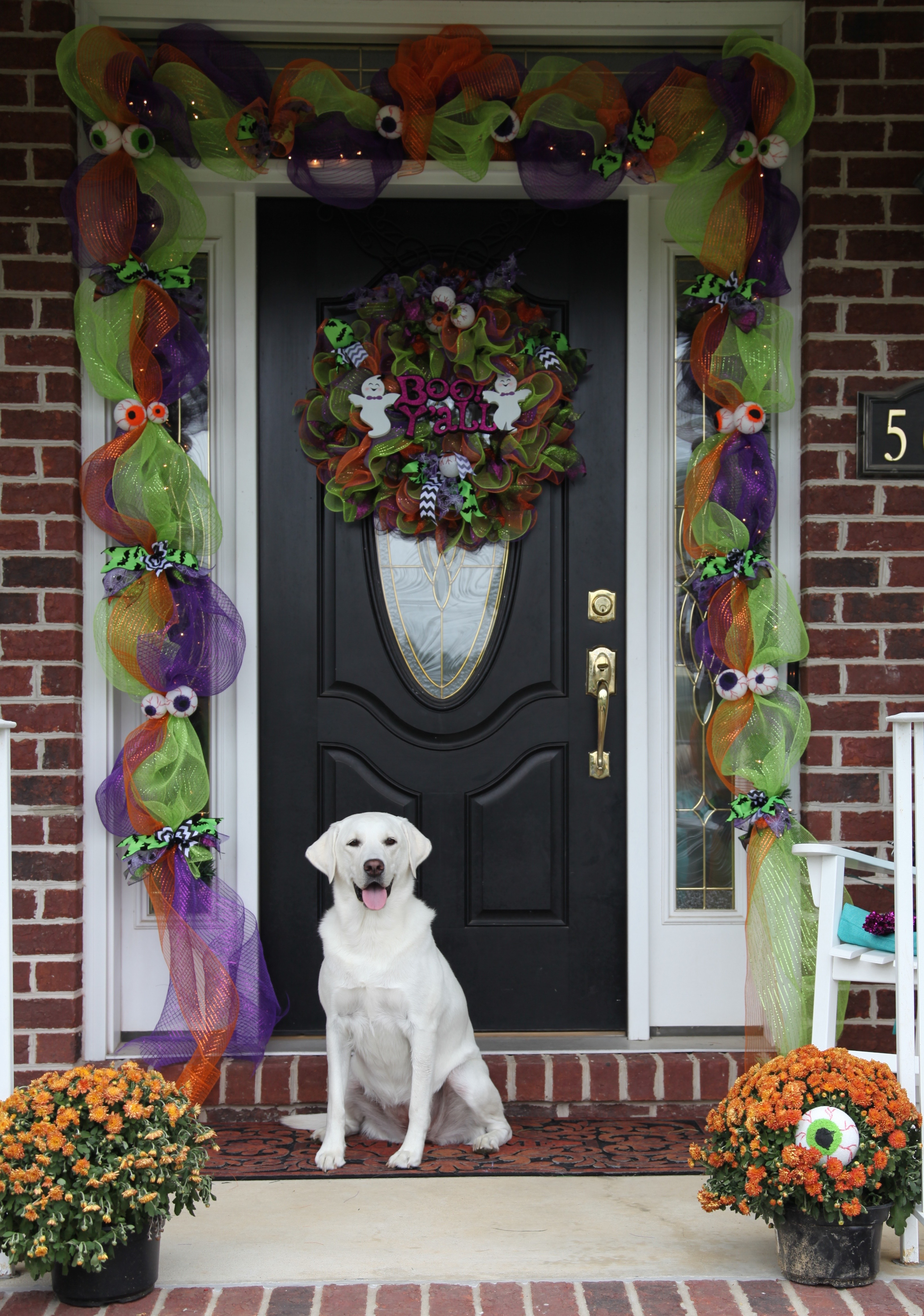 img_2014 click this link to part 1 deco mesh halloween - Deco Mesh Halloween Garland