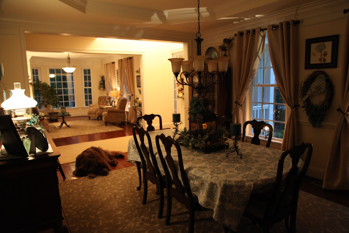 The Living And Dining Rooms ⚜️ Country Craft Corner ⚜️