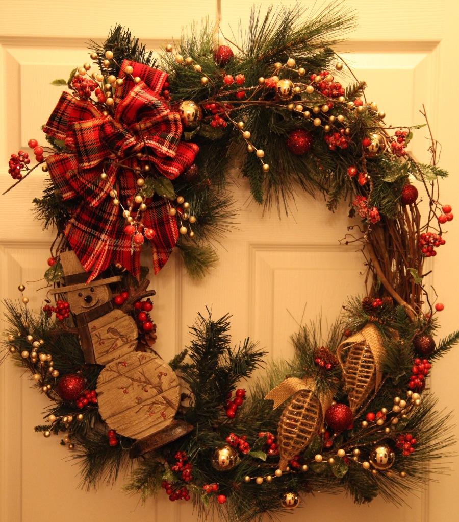 christmas grapevine wreath - Grapevine Garland Christmas Decorations