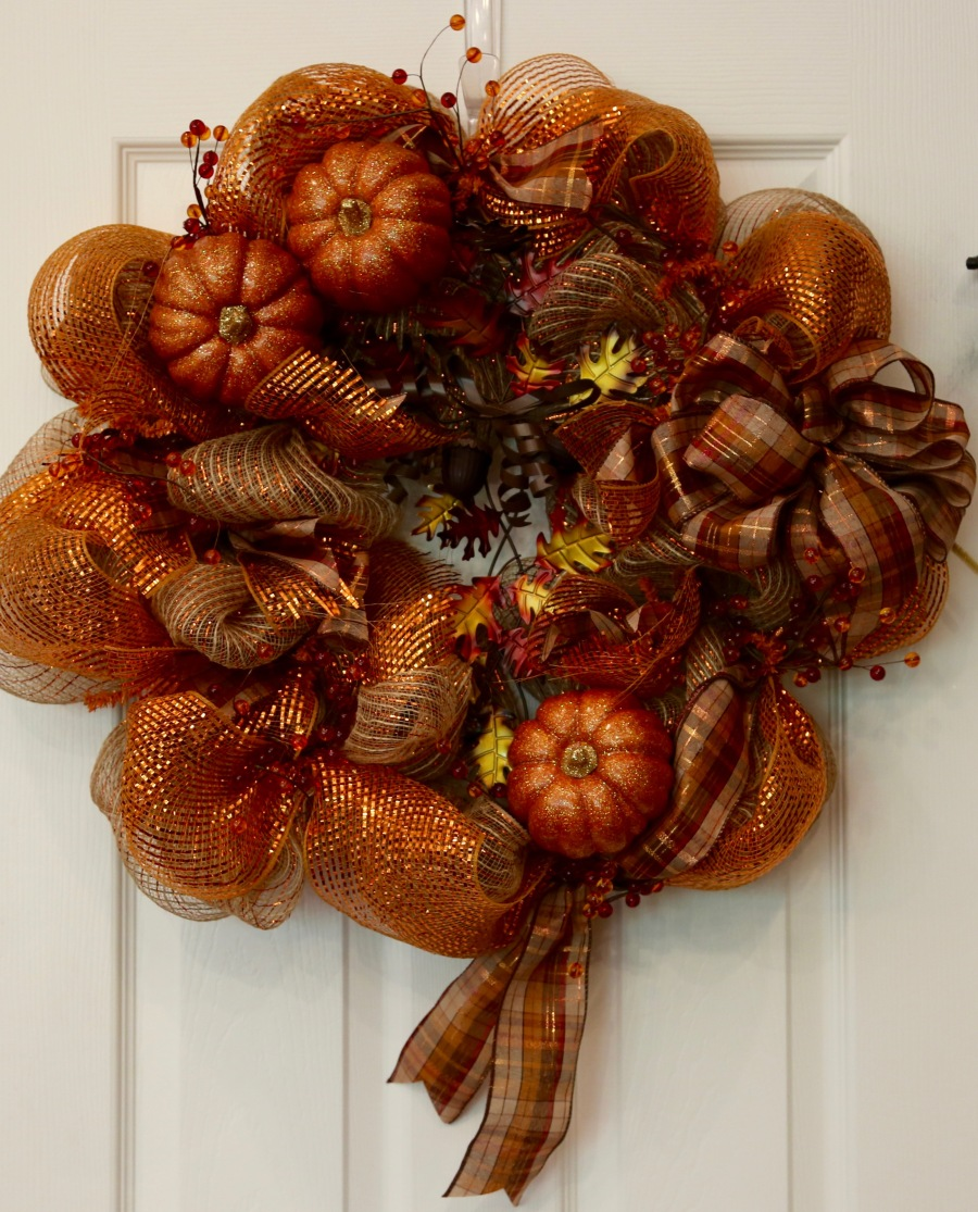 Fall Wreath Tutorial Country Craft Corner